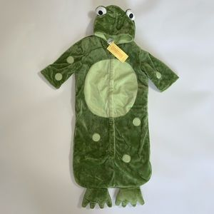 New with tags Gymboree Frog Costume 06 fall tag